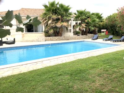 Photo for SUPERB VILLA 200 M2 CLIMATISEE SWIMMING POOLHOUSE ON 1100 M2 OF GROUND SPORTS