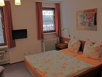 Photo for Double room without balcony - Hotel Garni Pension Zur Rose