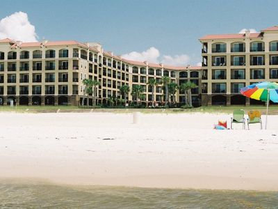 Photo for Pass Christian 2BR-2BA Beachfront Condo - Top Floor -- No Fees by Owner