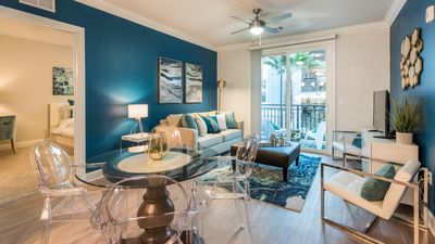Photo for Incredible 2BR w/ Pool + Gym Near Universal, Disney