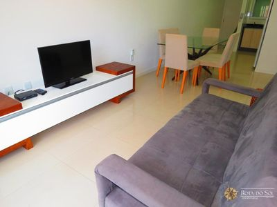 Photo for Code 028A Apartment well located in the center of Bombinhas for 6 people!