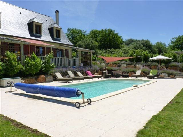Captivating La Dornac Villa Rental   The Large Private Heated Pool
