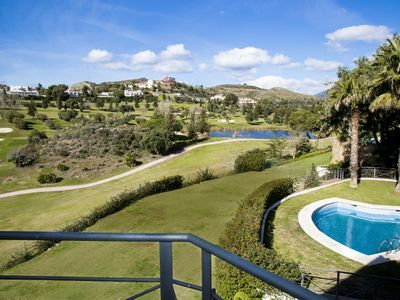 Photo for Panoramic views. Set in grounds of 3/4 acre but only 10 mins from Puerto Banus.