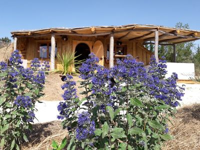 Photo for Unusual B & B, Hobbit cabin, with private Spa, near Carcassonne