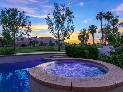 Photo for Pet Friendly Home - Sunset Views, Private Pool/Spa, Wifi, Family Friendly