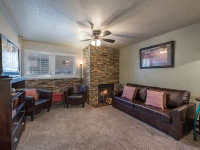 Photo for Cozy Carriage House Condo with WiFi, Fireplace - By PADZU