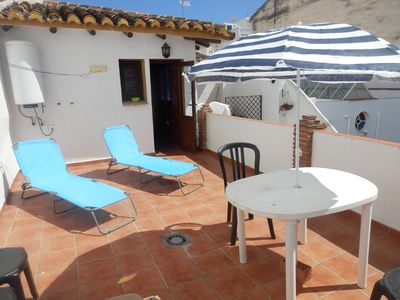 Photo for Apartment in the center, private terrace, air conditioning and wifi