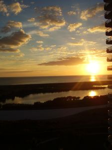 Photo for Luxury Beach Front High Rise: Wraparound Balcony of Direct View of Gulf & Pool