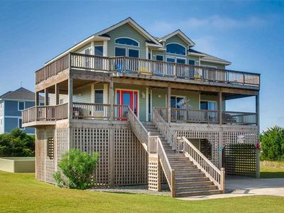 Photo for Enjoy Ocean & Sound Views! Pool, Hot Tub, Game Room, Sound Access, Walk to Beach
