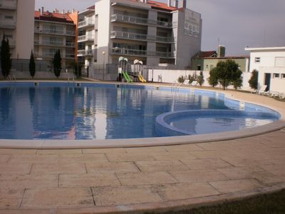 Photo for MS BS - Beach S. Martinho do Porto - Apartment T3 - Swimming pool, garden and garage