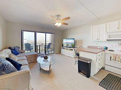 Photo for New Listing! Walkable Downtown Condo w/ Riverfront Balcony