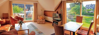Photo for 3-room apartment garden flat - Apartments Baumbach