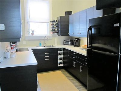 Brand new Ikea kitchen..induction cooktop, Keurig Coffee, toaster oven too!