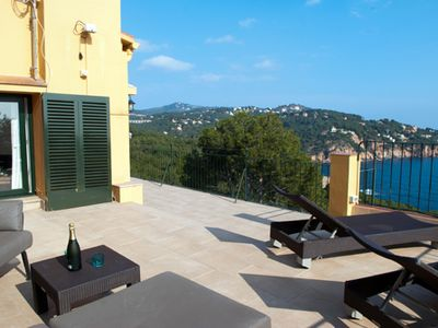 Photo for 3 bedroom Apartment, sleeps 6 in Tamariu with Pool and WiFi