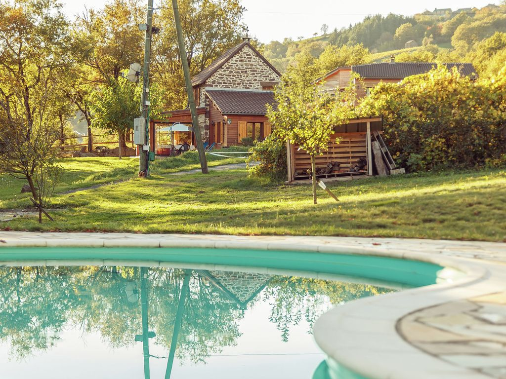 Detached Holiday Home With Swimming Pool In A Gorgeous Nature Reserve Brousse Le Chateau Midi