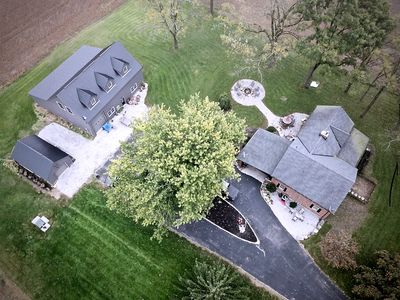 Photo for * 50 Acre  Country Estate w/Screened Patio , Gym & Games Barn