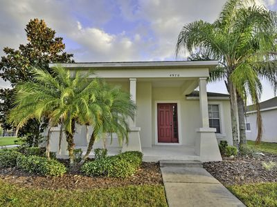 Photo for 4 bed, 4 bath villa with private pool and jacuzzi, located on gated resort community