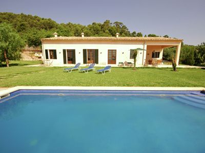Photo for Large traditional country house with furnished veranda and garden with pool