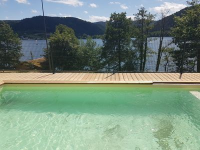 Photo for New chalet Vosgeneige 15 pers Pool Lake View Opening June 15, 2019