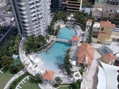 Photo for Towers of Chevron 27fl 2BR Ocean Views