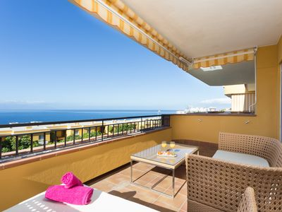 Photo for Luxury Family Duplex Apartment with Panoramic Sea View