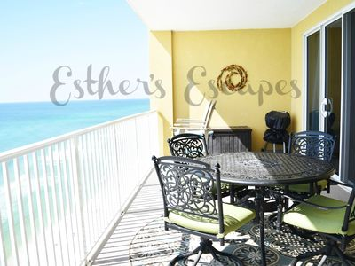 Photo for Breathtaking Views !! Huge private balcony .... Beach service included !!!!