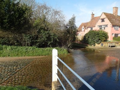 Photo for VisitEngland 5 Star Gold C15th Cottage In Kersey, Hadleigh, Suffolk, England