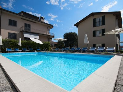 Photo for Apartment with pool 1st floor. Beach closer