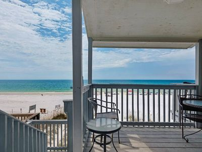 Photo for 3 story private beachfront townhome. Amazing views  Free Parasailing