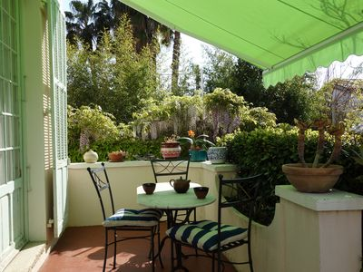 Photo for French Riviera : very pleasant villa close to the sea (4 Bedrooms, Sleeps 6 - 8)