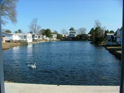 Photo for Best Lakefront Lot in Osv, One Story Home, Golf Cart Included