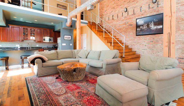 3 Bedroom Downtown Chicago Penthouse Homeaway Old Town