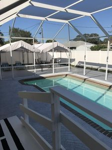 Photo for Venice Pool Home Minutes to Beaches in Venice, Englewood or Sarasota
