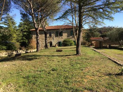Photo for Apartment in Tuscan Estate with Beautiful Garden and Terrace