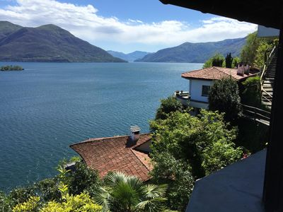 Photo for Small charming house on the hillside with magnificent views of the Lago and the Iso