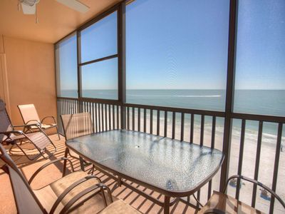 Photo for Comfortable Top Floor Unit Overlooking the Gulf.  Incredible View.  Great Resort.