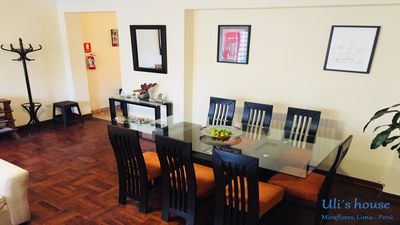 Photo for Miraflores, Privated dorm with bathroom, bed and breakfast, big and cozy house