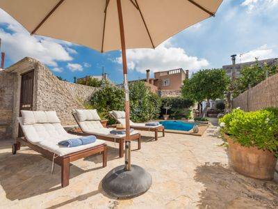 Photo for 2 bedroom Villa, sleeps 6 with Pool, Air Con, FREE WiFi and Walk to Shops