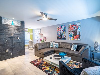 Photo for Modern 1b/1b with HEATED pool - Wilton Manors