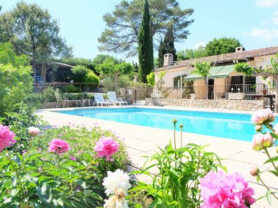Photo for Lovely house with pool and beautiful garden