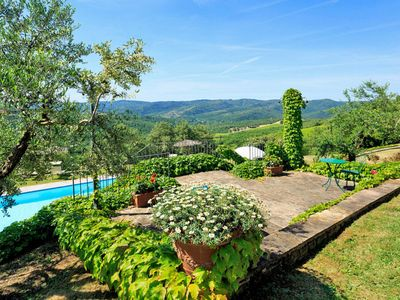 Photo for Apartment Podere Camperchi (MSV122) in Monte San Savino - 4 persons, 2 bedrooms
