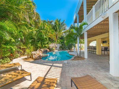 Photo for Poseidon's Palace:Amazing w/Heated Pool, HotTub, RoofTop Deck, Block to Beach