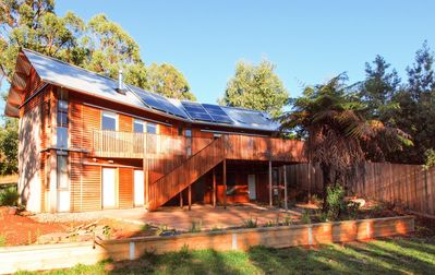 Photo for BEECHES - Timber clad house, quiet location