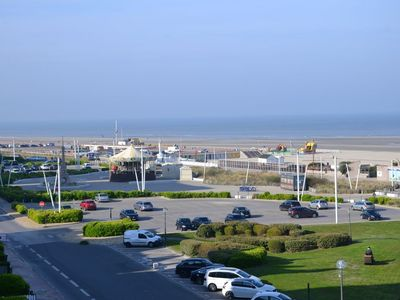 Photo for Crossing apartment with exceptional views facing the beach, 6 people