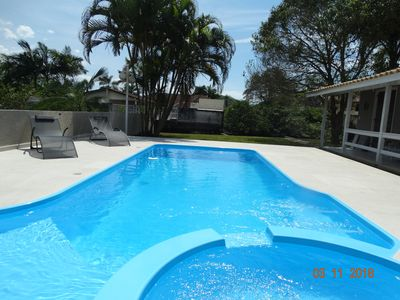 Photo for LARGE RESIDENCE WITH SWIMMING POOL, IN THE BAY OF GUARATUBA C / VISTA TO SEA AND RIO BACK