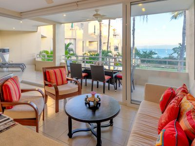 Photo for Beachfront designer home in the heart of Punta de Mita with luxury amenities