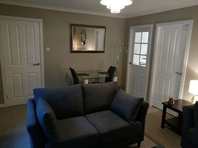 Photo for Luxury Boutique Sytle One Bed Apartment Tranquil Setting 5 Min Drive to City