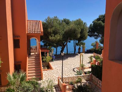 Photo for 2 Bedroom Holiday Home with Top Sea View in Calpe