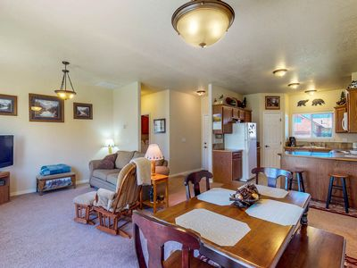 Photo for NEW LISTING! Cozy & centrally located home close to skiing, golf, lakes & town