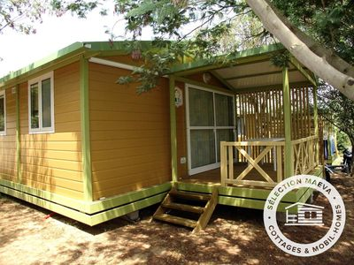 Photo for Campsite Lou Cabasson *** - Maeva Camping - 3 room chalet 5 people